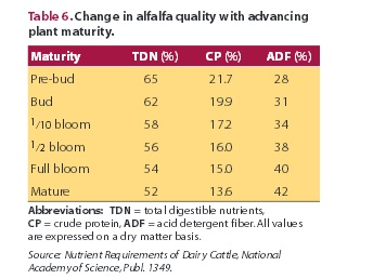 Happy Horse Healthy planet_Maturity of Alfalfa